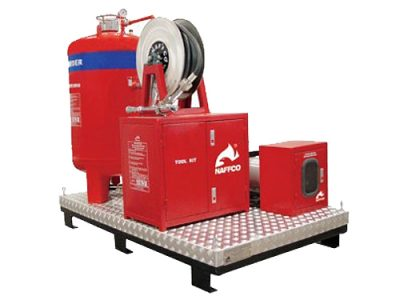 Dry-Powder-Skid-Unit